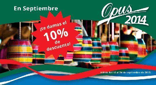 Opus 2014 - 10% de descuento