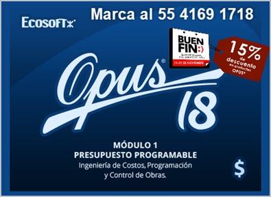Opus 18 Modulo 1 Presupuesto Programable