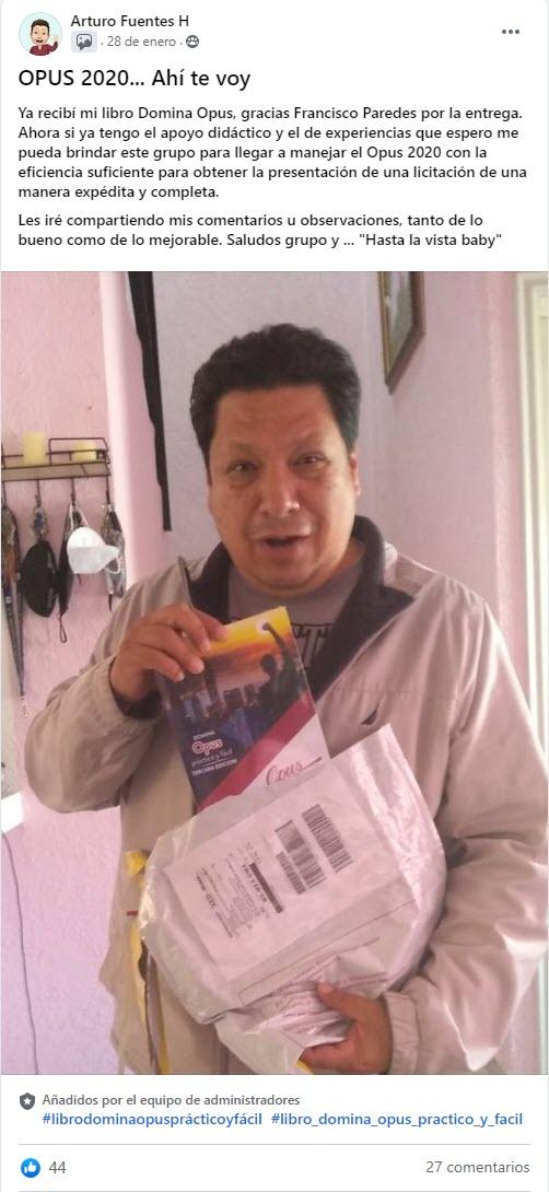 Libro Domina Opus, Práctico y Fácil - Francisco Zamora Paredes 01